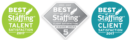Best of Staffing Inavero 2017 Client Talent 5Year Diamond Award